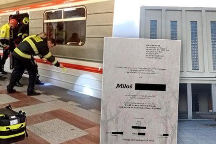 Miloše (†52) strčili pod metro, zemřel! Viník (17) se přiznal a míří k soudu. Co se na místě stalo?