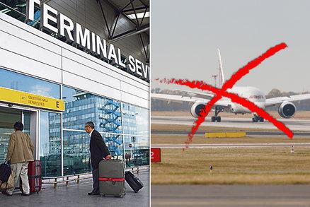 Koronavirová krize omezuje provoz na pražském letišti: O čtvrtinu letů méně, noční provoz se zruší