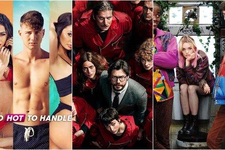 Too Hot to Handle, Money Heist, Final Table: Nejlepší seriály na Netflixu, které vám nedají spát