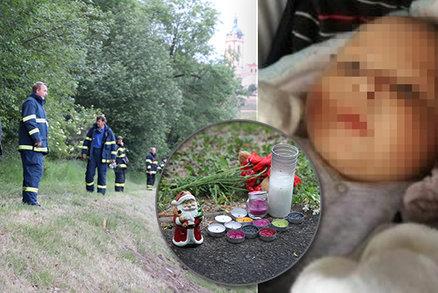 Tělo Tadeáška (†4 měs.) dali do batohu, zatížili kameny a hodili do řeky! Policie o šokujících detailech nálezu pohřešovaného miminka