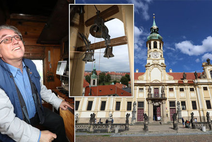 Pražská loreta slaví 325 let od zprovoznění: Lidé se mohou vydat až na vrchol k mechanismu zvonohry