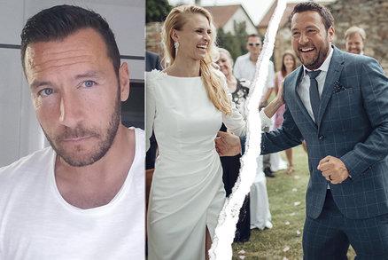 Moderátor Michal Janotka šokuje: Rok po svatbě je bez krásné manželky! Nevěra?!