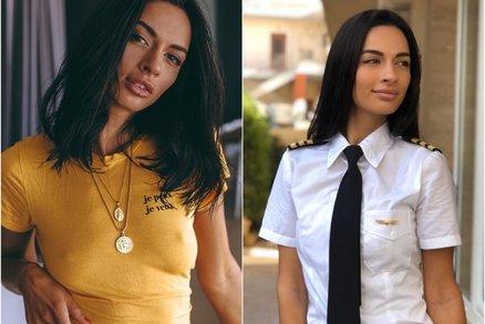 Není jen hezkou tvářičkou: Sexy pilotka dokazuje, že i ženy patří do kokpitu