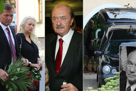 Pohřeb táty šesti dcer Mátlových: Janeček se zlobí! Peníze jen lítaly, teď rána pod pás!