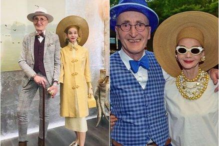Tohle je nejstylovější pár Německa! 75letý hipster děda a jeho žena mají módu v malíčku