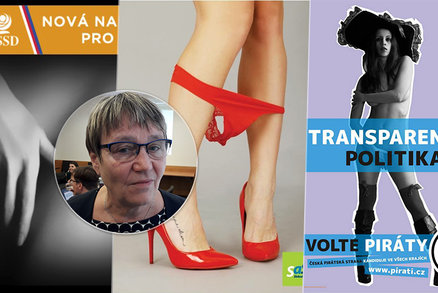 """Prsa, zadky i """"pichlavé"""" slogany. Zmizí z ČR sexistické reklamy? Problémy měli i politici"""