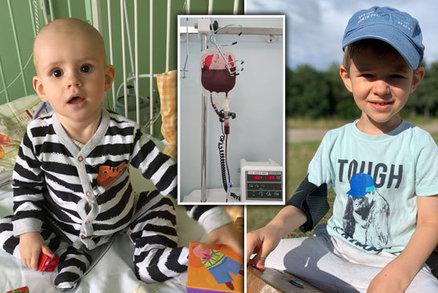"""Maminka o boji Kryštůfka (4) s leukemií: """"Ztrácel se mi před očima, pomohli andělé z Motola"""""""