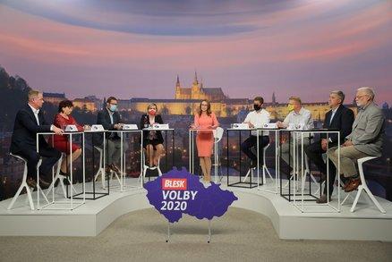 Předvolební debata Blesku: O zavírání škol, rouškách v lavicích a chaosu ve školství
