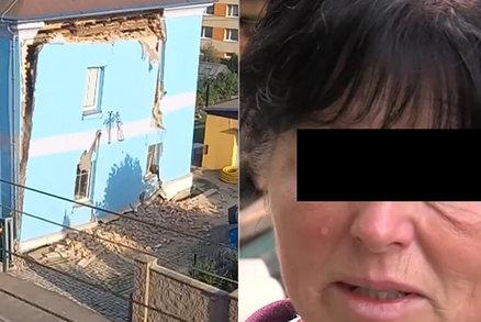 Rodinný dům v Liberci se zhroutil jako domeček z karet: První slova jeho obyvatel