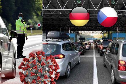 Německo zřejmě zařadí Česko mezi rizikové oblasti: Přes hranice pouze s negativním testem