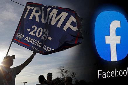 """Facebook naznačil """"černý scénář"""" k volbám. Američanům by mohl omezit služby"""