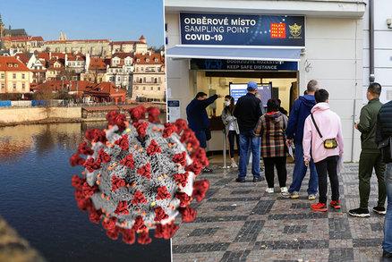 Koronavirus v Praze: Za den přibylo 442 nakažených, nemocných je přes čtyři tisíce