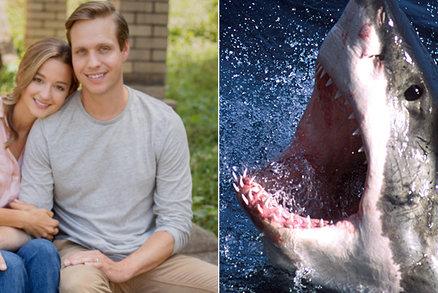 Do muže (30) se v dovolenkovém ráji zakousl žralok. Zachránila ho těhotná manželka