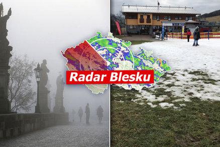 Ochlazení utne v Česku babí léto. Víkend proprší, přijde i první sníh, sledujte radar Blesku