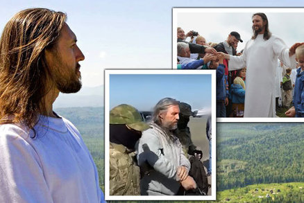 Rus Sergej o sobě tvrdí, že je převtělený Ježíš: Zatkli ho, protože prý z věřících ždímal peníze!
