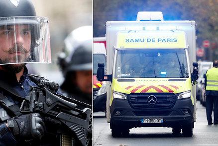 Útok u bývalé redakce Charlie Hebdo: Dva vážně zranění, pachatel měl sekáček na maso?