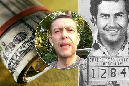 Synovec Pabla Escobara našel v bytě po drogovém králi bohatství: Ve zdi na něj čekalo 418 milionů!
