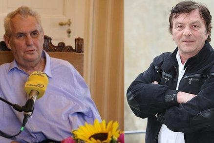Miloš Zeman prozradil detaily státních vyznamenání: Medaili by měl dostat Pavel Trávníček!