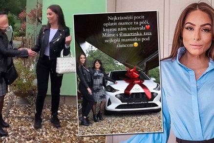 Týnuš Třešničková dojala maminku! Za péči během léčby popálenin nové auto