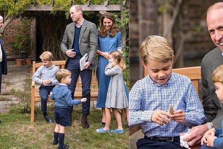 Nové fotky královských capartů berou dech! Dárek pro George ale vyvolal roztržku