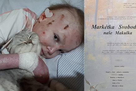 """Markétka """"Makulka"""" Svobodová podlehla nemoci motýlích křídel: Zákeřné chorobě vzdorovala 15 let"""