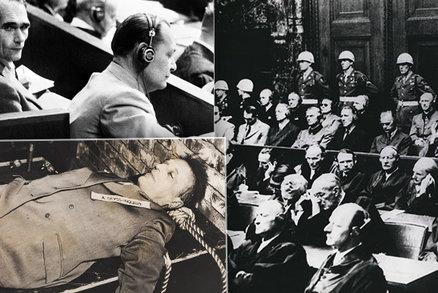 Ohavná zvěrstva nacistů byla potrestána před 74 lety: Norimberský proces účtoval nekompromisně