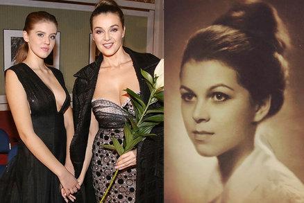 Kubelková ukázala svoji matku zamlada dceři (15): Ku*va babi, ty jsi byla kost!