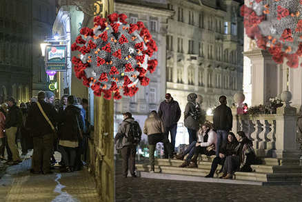 První noc zákazu vycházení v Praze? Přes 30 prohřešků, kontroly na ohlášení i namátkové rostou