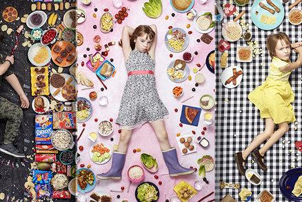 GALERIE: Mrkněte, co snědí děti z celého světa za týden! Jak jsou na tom ty vaše?