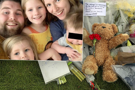 Máma (†29) se třemi dětmi (†4, †6 a †8) zemřely při havárii: Táta s dcerkou bojují o život
