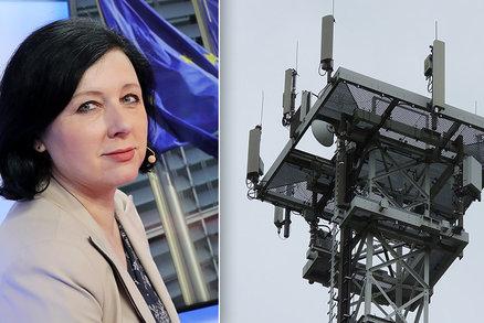 Vandalové ničí nové vysílače pro mobily. Vyřešte hnutí proti 5G, tlačí státy na Jourovou