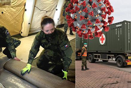 Z Linetu vyjely první kamiony s vybavením pro polní nemocnici v Letňanech. Vezou 200 lůžek