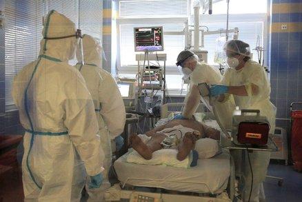 Volná lůžka: Kolik lidí muselo být s covid-19 hospitalizováno a jaká je kapacita nemocnic?