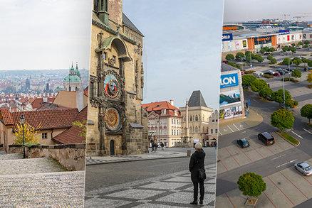 Prázdný Staromák, metro i nákupní centra: Praha se se zpřísněním opatření opět proměnila v město duchů