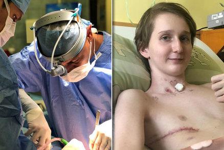 Unikátní zákrok ve FN Ostrava: Nicolase napadl zlatý stafylokok, lékaři mu odstranili plíci