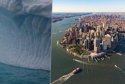 New York, Tokio a Londýn pod vodou: Hrozba tání ledovců je reálná, dokazují vědci v nové studii