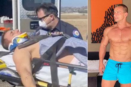 Youtuber si polámal krk a záda po pádu při děsivé nehodě během skydivingu