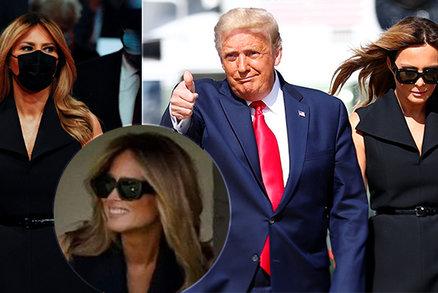 """""""Tohle není Melania?!"""" Rozesmátá fotka Trumpovy ženy přiživila debaty o dvojnici"""