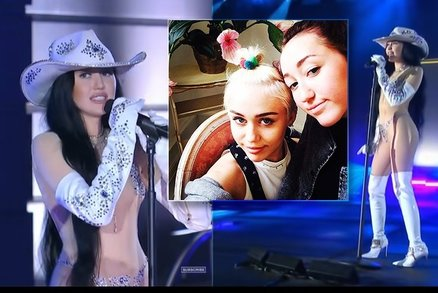 Inspirace u starší sestry Miley? Noah Cyrusová vystupuje skoro nahá!