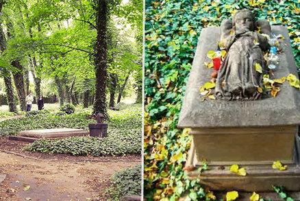 """Legenda o """"svaté holčičce"""" Aničce (†3): Jaké tajemství skrývá nejmenší hrob Malostranského hřbitova?"""