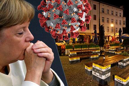 Merkelová chce Němcům zavřít restaurace a omezit život. A ministryně má spadeno na Čechy