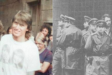 Protesty 28. října 1989 mohly skončit masakrem: Zadržený demonstrant popsal ponižování ve vězení