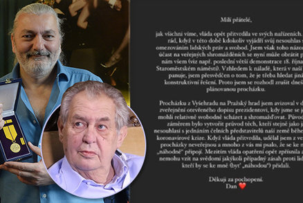 Dan Hůlka chtěl na Hradě vracet metál: Na poslední chvíli ale couvl!