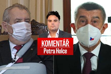 Komentář: Zeman 28. října pohladil národ. A opozici utnul sny o vládě bez Babiše