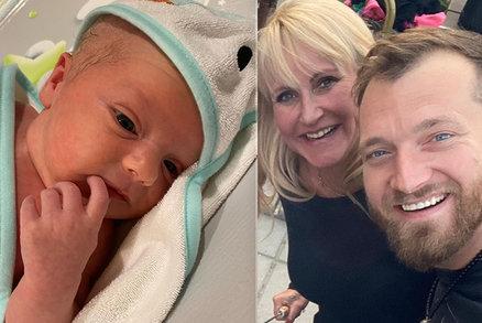 Dojatá maminka Vendula Pizingerová (48): Klid díky novorozenému synovi! I přes pláč