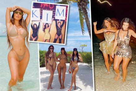 Snobská oslava Kim Kardashianové: Drsná kritika kvůli radovánkám na soukromém ostrově!