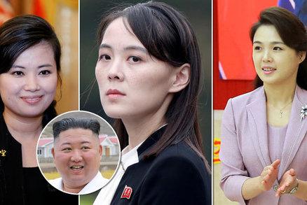 Souboj Kimových žen: Sestra ostrouhá, manželka zmizela. Diktátorova ex si uzurpuje moc