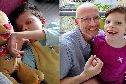 Tenhle táta je správný chlap! Sám se stará o nemocnou Simonku a ještě vymyslel super projekt!