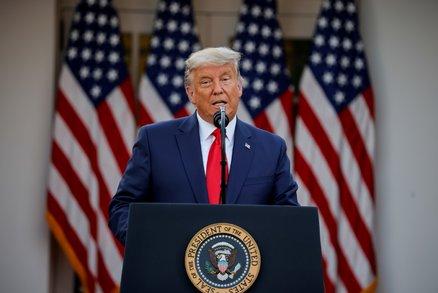 Trump poprvé přiznal, že ho porazil Biden. Dál tvrdí, že volby byly zmanipulované