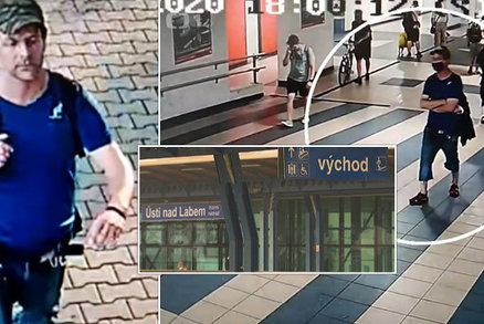 Cizí muž v Ústí nad Labem sáhl dívce (14) mezi nohy při nastupování do vlaku: Pátrá po něm policie